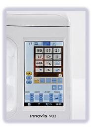 farbiger Touchscreen