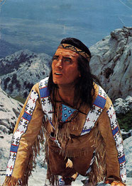Pierre Brice als Winnetou (Constantin-Film)