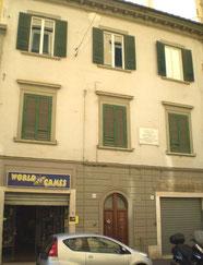 リヴォルノのモディリアーニの生家。