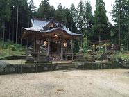 美用神社 社殿