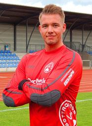 Felix Schürmann hielt in der ersten Hälfte seine Farben im Spiel.