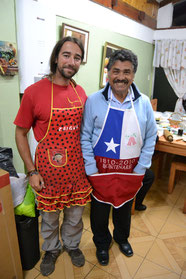 David y Don Homero de chefs: España vs Chile