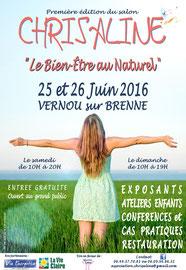 Salon bien-être en Touraine - Vernou-sur-Brenne - juin/2016