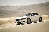 Dodge Charger in Death Valley