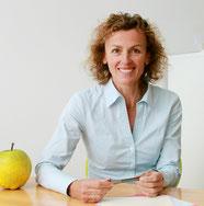 Christine Blohme - Bei der Ernährungsberatung erfahren Sie, wie gut geniessen und gesund essen zusammenpassen.