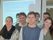 Reinhold Zitz diskurtiert mit unseren Studenten aus dem Studiengang Sport- und Eventmanagement