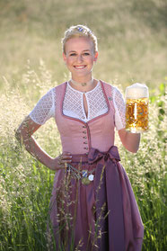 Die Bayerische Bierkönigin Veronika Ettstaller, Foto: Bayerischer Brauerbund