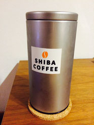SHIBA COFFEEさんで販売されている密閉保存缶