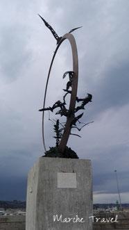 Monumento al Gabbiano Jonathan Livinston - Mario Lupo, Lungomare di San Benedetto del Tronto