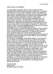 Brief Juni 2014