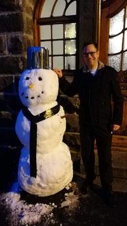 Snow Lukas mit Pater Lukas