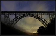 Höchste Eisenbahnbrücke Deutschlands (107m)