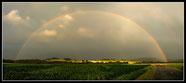 Regenbogen, fotografiert in Zittau