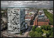 Blick vom LVA-Gebäude