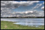 Rheinufer in Duisburg