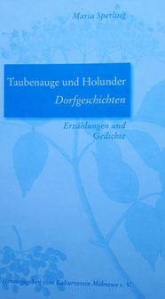 Cover des Buches Taubenauge und Holunder