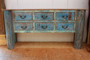 Sideboard aus Altholz von Wood-Art. Foto Wood-Art