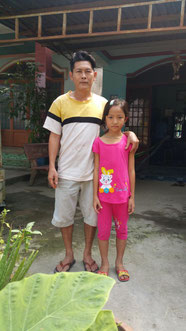 Tường Vy and her father