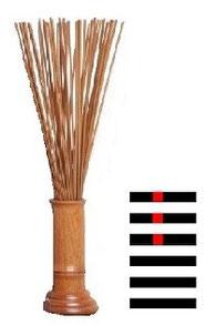 筮竹の画像