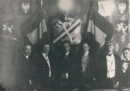 """Polnische Verbindung """"Sarmatia"""" zu St. Petersburg. 1910."""
