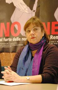 """Gewerkschafterin Rita Schiavi: """"Unsere Pensionskassen sind kein Selbstbedienungsladen für Lebensversicherer""""."""