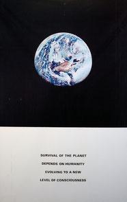 Alain Jacquet, Survival of the planet, 1974, lithographie, collection artothèque du musée des beaux-arts de Brest métropole. © ADAGP, Paris, 2016.
