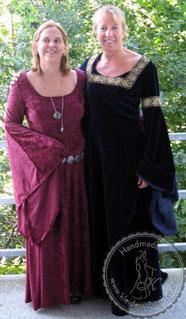 Mittelalterkleid, Mittelalter Gewand, Gewandung