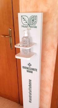 Coronavirus Hotel Pennile Ascoli Piceno