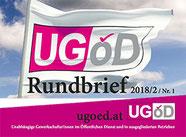 Rundbrief UGÖD   Grafik:UGÖD/angep. spagra