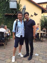 Shozo und Fabrizio