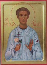 икона святого новомученика Александра Мюнхенского
