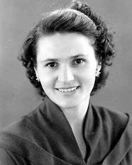 Нина Курило спустя 10 лет после войны. Фото из личного архива.