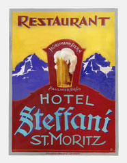 Hotel Steffani from 1869