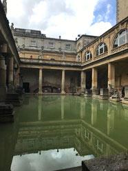 Römische Bäder in Bath, England