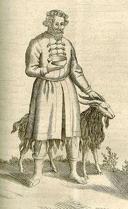 Bockheiligung bei den Prußen, in: Christoph Hartknoch, 1684