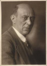 Arnold Schönberg 1924. [ÖNB Bildarchiv]