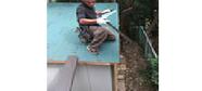 雨漏り 倉庫 ガルバリウム鋼板