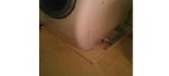 洗濯機パン取り付け 洗面脱衣所 リフォーム 排水の臭い