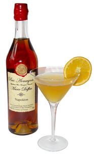 Vin d'Orange Cocktail with Marie Duffau Armagnac Napoleon