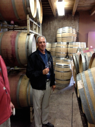 Tasting wine at Bethel Heights in the Eola-Amity Hills
