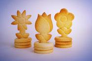 3D koekjes in elkaar zetten