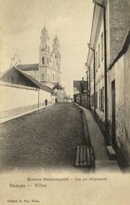 Vilniaus Viešpaties Dangun Žengimo (Misionierių) bažnyčia. Leid. K. Rio / God's Entry to Heaven (The Missionary) Church. Publisher K.Rio