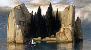 1883年に描かれた3枚目の「死の島」