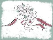 Hochzeit, Floristik, Blumendekoration, Ansteckblumen, Kunstblumen