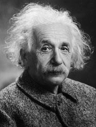Albert Einstein, Mann, Zinseszins, Zinseszinseffekt, größte Kraft im Universum, 8. Weltwunder, freaky finance