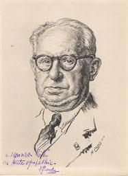 Paul Jouve  peitntre et sculpteur  1952