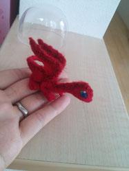 羊毛フェルト ドラゴン ミニサイズ 小さい