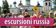 escursioni in tutta la russia