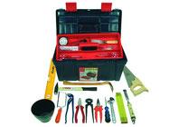 Werkzeugkästen. -Boxen, Taschen