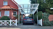 Foto Glasdach-Carport